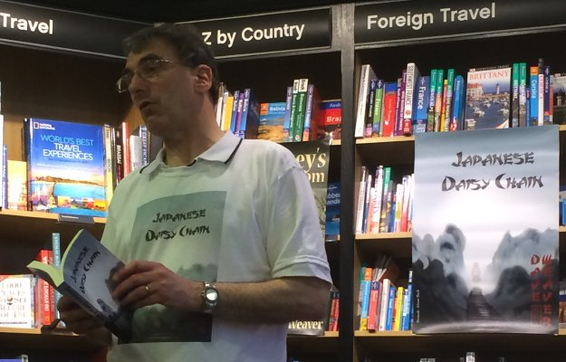 Dave Weaver's Waterstones St Albans reading/signing