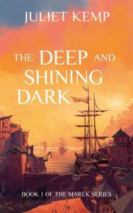 The Deep and Shining Dark print publication day