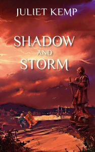 Shadow and Storm print publication day